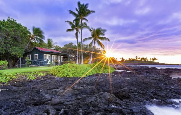 Hotels and Resorts on the Island of Hawaii