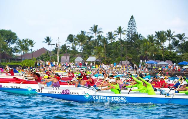 ハワイのフェスティバル