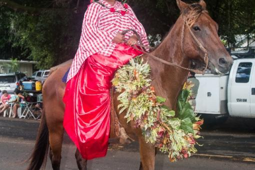 Pa'u riders are a favorite tradition at the annual Parade.