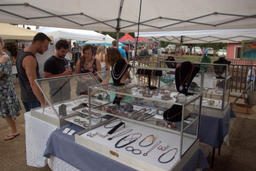Discover unique art, jewelry, and more at the Princeville Night Market