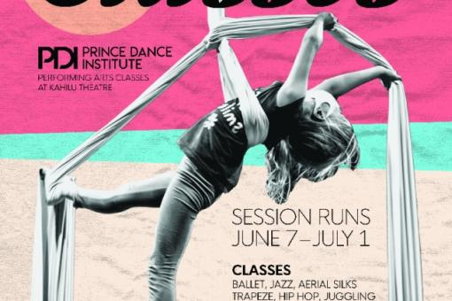 Summer Classes at Kahilu Theatre
