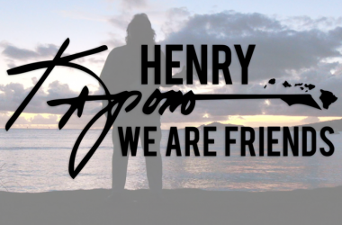 Henry Kapono...We Are Friends