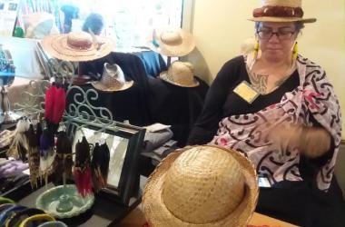 Unique Handmade Lauhala Hats weaved by Lufi Luteruu of Pawehi Creations