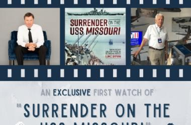 Second Mo-Joe series event of 2021 with the Battleship Missouri Memorial for an exclusive viewing of the film Surrender on the USS Missouri.