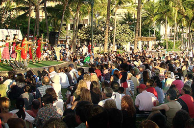 "Free Kuhio Beach Hula Show featuring Joan ""Aunty Pudgie"" Young And Puamelia"