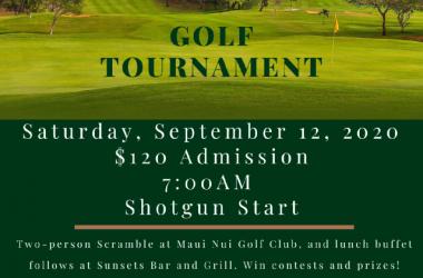 Golf Tournament & Buffet