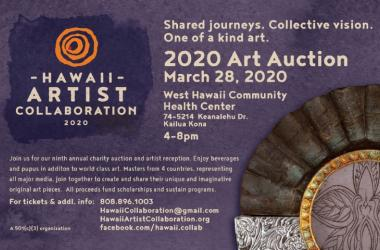 Hawaii Artist Collaboration Fundraising Auction