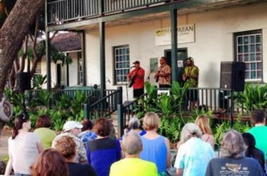 Hawaiian Music Series concert at Baldwin Home Museum in Lahaina
