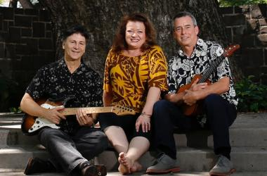 Hawaiian Style Band: Bryan Kessler, Robi Kahakala, and Wade Cambern