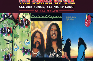 """Henry Kapono...We Are Friends with """"The Songs of C&K, All Night Long!  Concert"""
