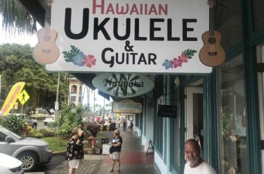 Hawaiian Ukulele and Guitar ( Hilo )