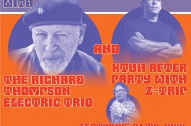 KTUH 50th Golden Anniversary with Legendary Guitarist Richard Thompson and DJ Z-Trip