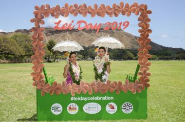 Lei Day Queen and 1st Princess 2019