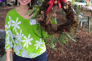 Living Wreath Making with Native Hawaiian Plants
