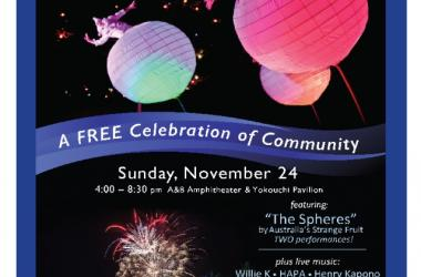 """MACC's 25th Anniversary Celebration of Community Featuring """"The Spheres"""" by Australia's Strange Fruit"""