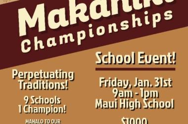 Maui Middle School Makahiki Championship (3rd Annual)