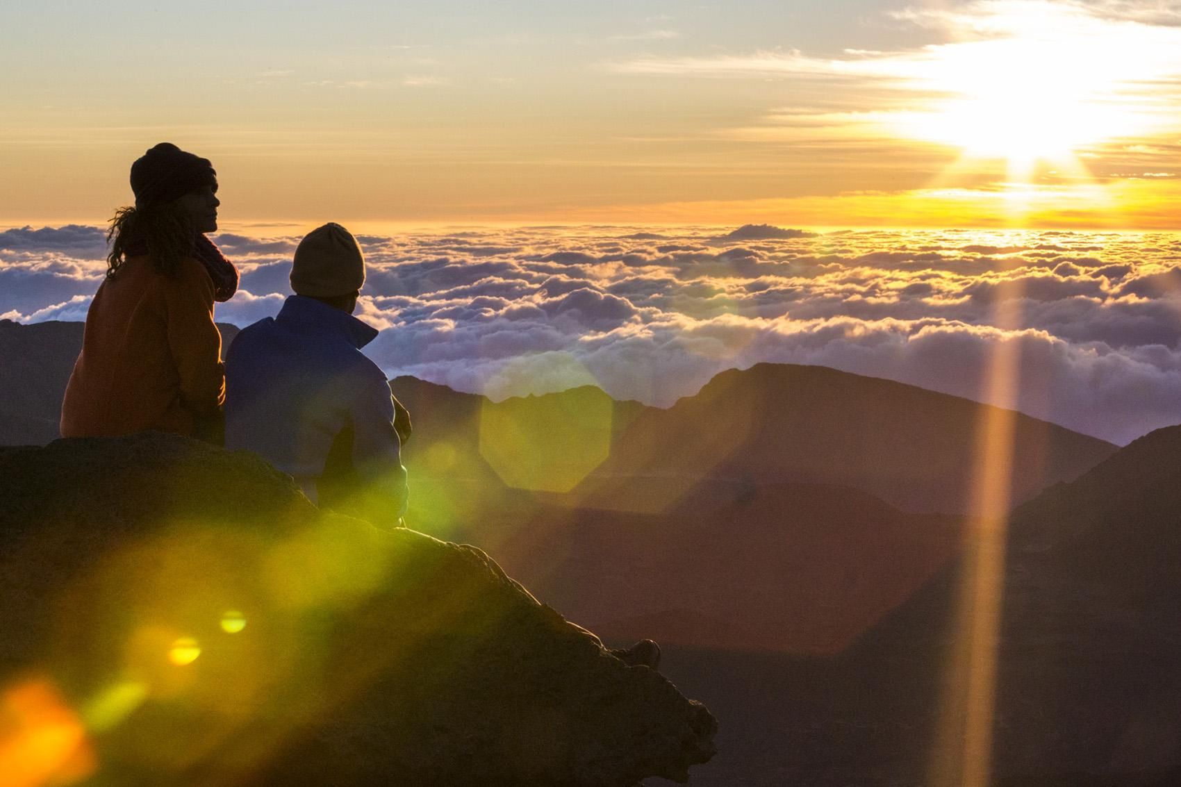 Sunrise from Haleakala on Maui