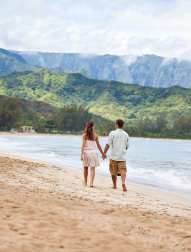 ハワイでハネムーン