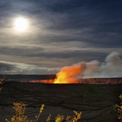 ハワイ火山国立公園 (ハワイ島)