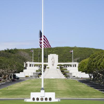 パンチボウル国立太平洋記念墓地