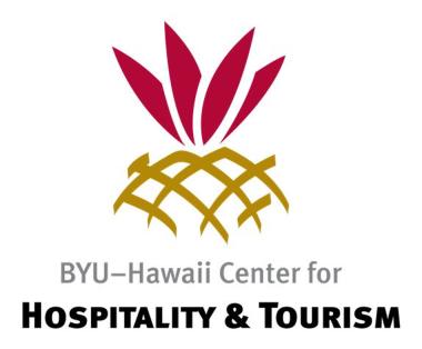 BYU Center for Hospitality and Tourism logo