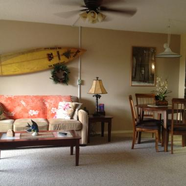 Maui Banyan - living room in MB