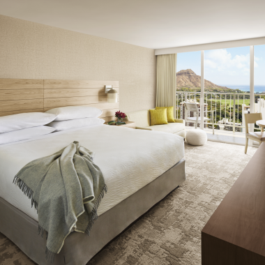 Diamond Head Ocean View Room