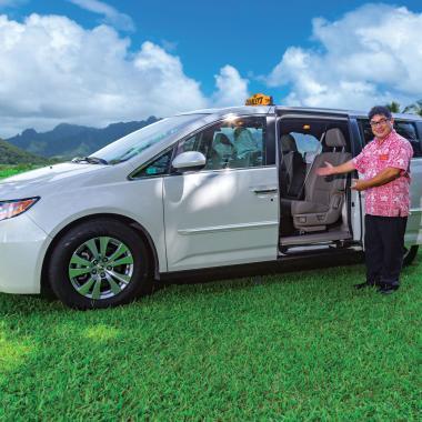 Charley's Taxi Honda Odyssey