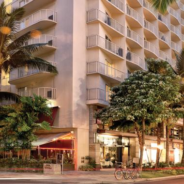Honolulu, Oahu, HI - Wyndham at Waikiki Beach Walk, Exterior