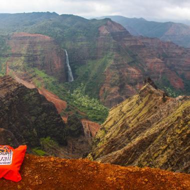On the Way - Waimea Canyon Lookout - Kauai