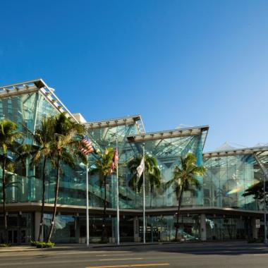Hawaii Convention Center (credit Dana Edmunds)