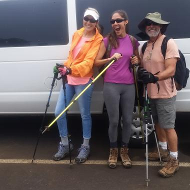 Safety Equipment - Always prepared, KHT provides specialty hiking equipment as needed!