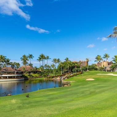 Ko Olina Golf Club 18th Hole