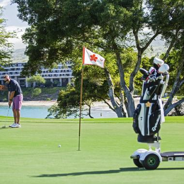 Mauna Kea Golf Course with Golf Board
