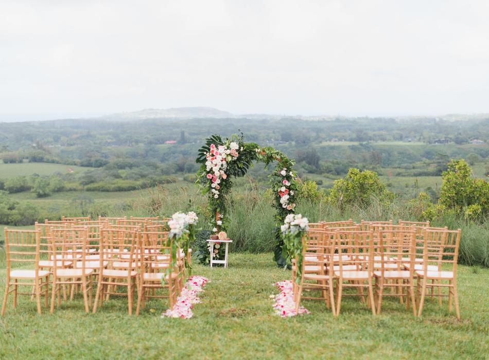 Weddings in Princeville Ranch - Legacy Events Kauai