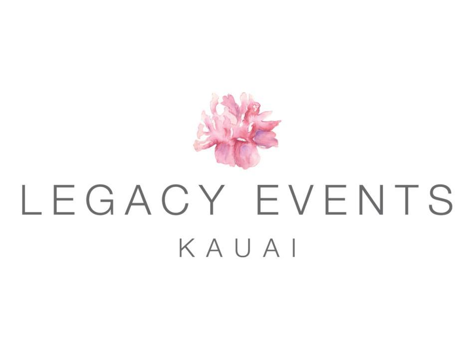 Legacy Events Kauai Logo - Kauai Wedding Planner