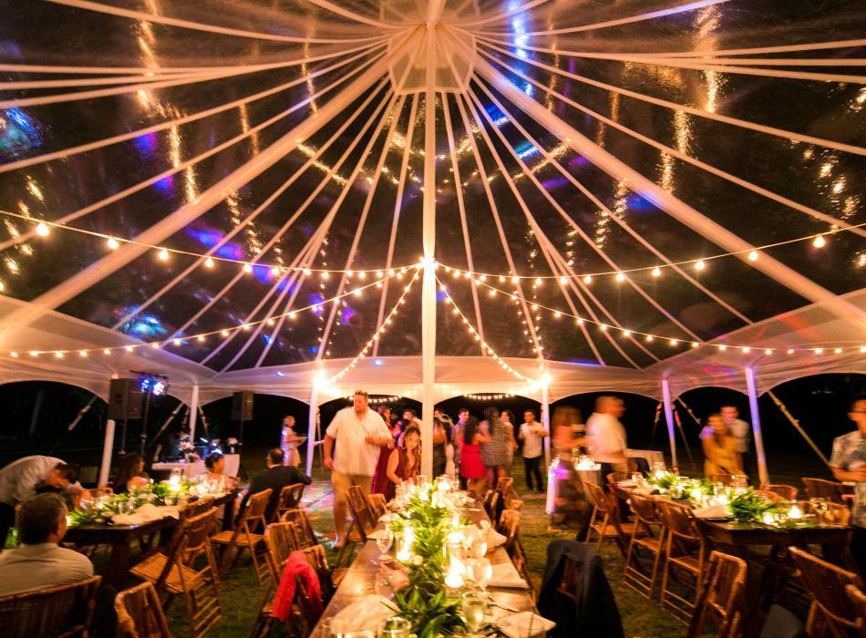 Wedding Tent - Legacy Events Kauai
