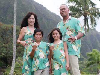 Hawaiian Matching Clothing