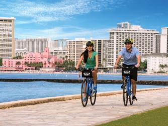 Waikiki Bike Ride