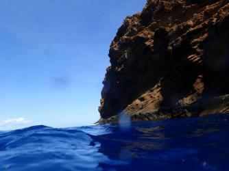 Back Side of Molokini