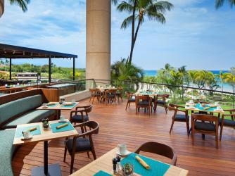 The Westin Hapuna Beach Resort 'Ikena Landing restaurant