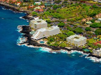 Royal Kona Resort Aerial