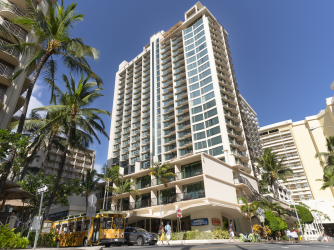 The Imperial Hawaii Resort Exterior Street View
