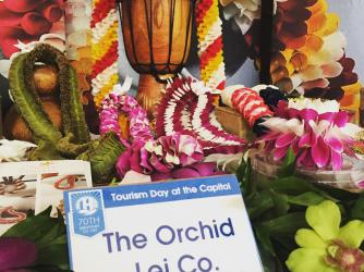 Orchid Lei 2