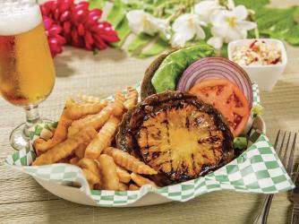 Tiki Grill Teriyaki Burger