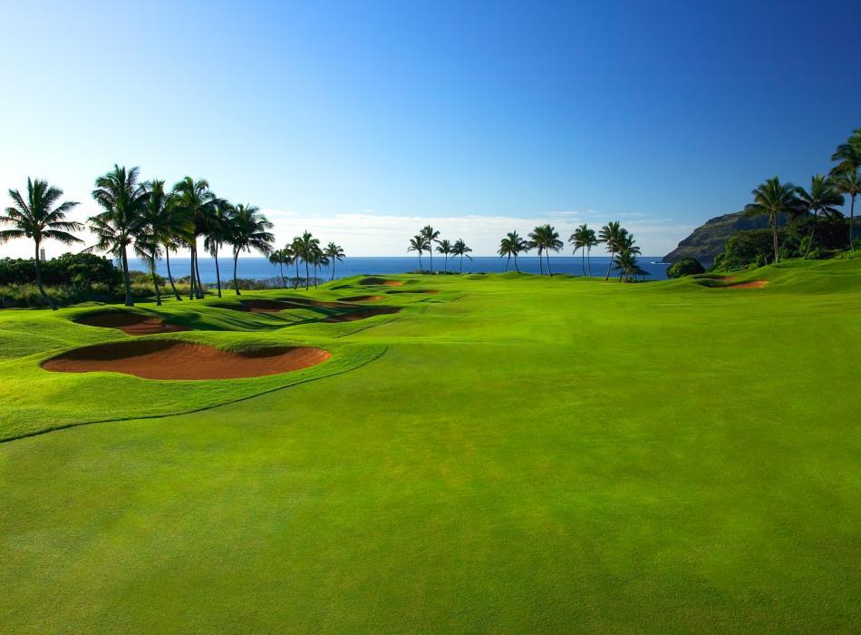 ハワイのゴルフコース