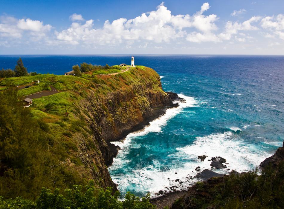 カウアイ島の史跡
