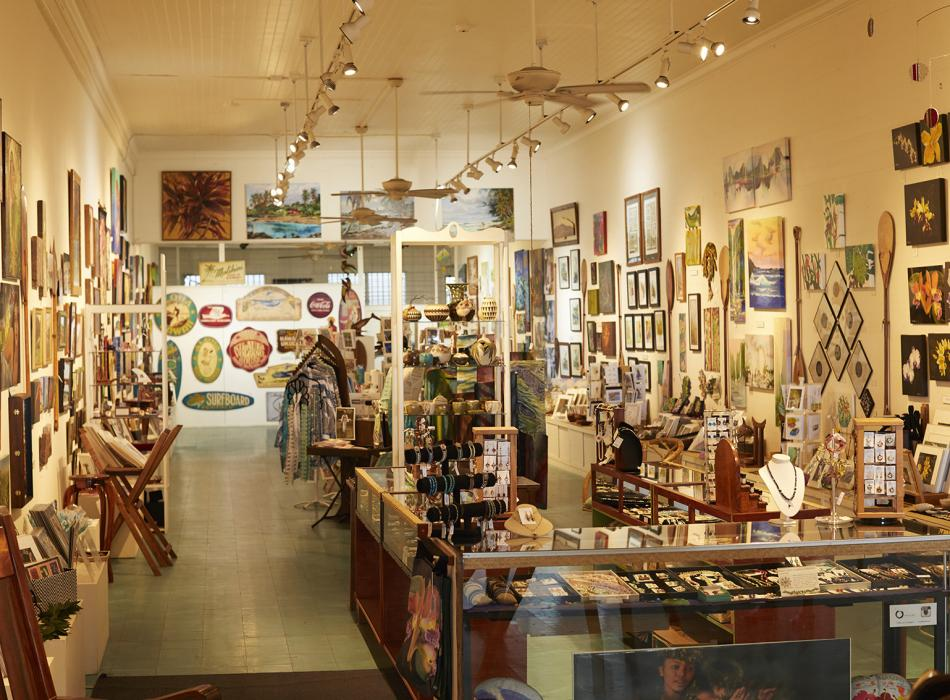 Galleries and Shops