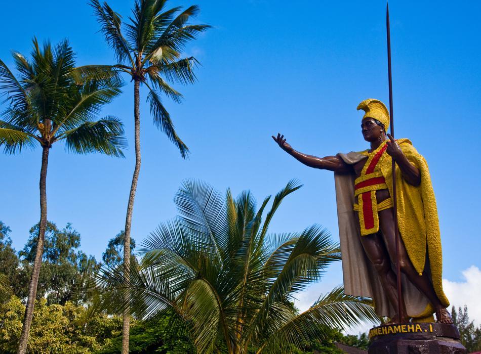 Kamehameha Statue, Kapaau Town