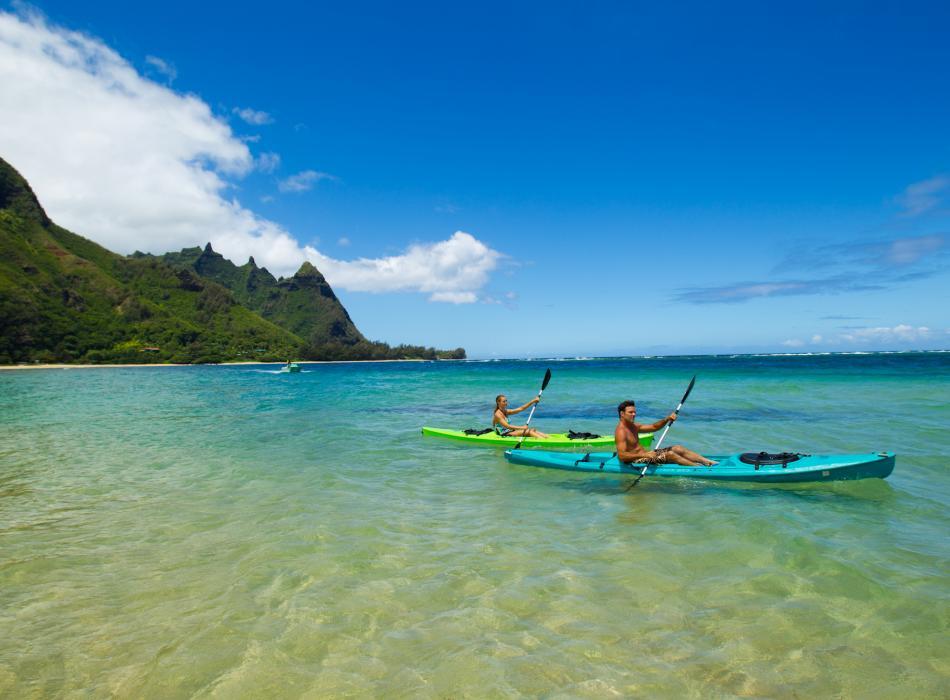 カウアイ島を楽しむ